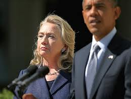 Hillary Clinton + Barack Obama